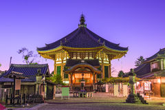 Tempio a Nara Fotografie Stock