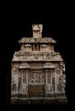 Tempio nel telaio Fotografia Stock