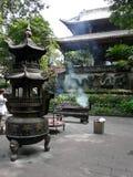 Tempio nella città di Guiyang, Cina Immagine Stock