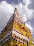 TEMPIO nella città a Nakhon Phanom immagine stock