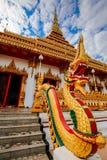 Tempio nella provincia di Khon Kean, Tailandia immagine stock
