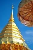 Tempio a nord della Tailandia Fotografia Stock