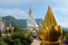 Tempio nordico del mosaico della Tailandia Fotografia Stock