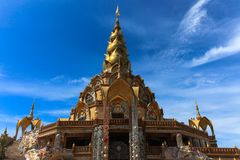 Tempio nordico del mosaico della Tailandia Fotografie Stock