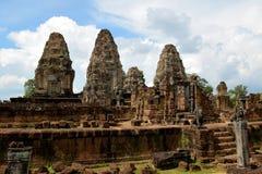 Tempio orientale di Mebon Fotografia Stock