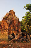Tempio Phnom Bakheng, Angkor, Cambogia Fotografia Stock Libera da Diritti