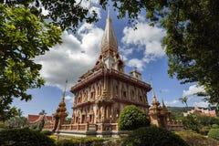 Tempio a Phuket Tailandia Fotografie Stock Libere da Diritti