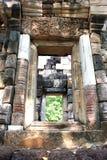 Tempio, Prasat Sadok Kok Thom, Tailandia Immagine Stock Libera da Diritti