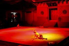 Tempio-prestazione di Shaolin immagini stock libere da diritti