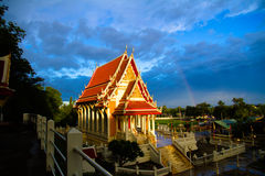 Tempio a Ratchaburi Fotografia Stock Libera da Diritti