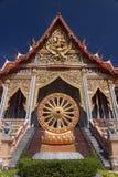 Tempio reale di stile tailandese Fotografia Stock Libera da Diritti