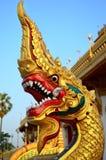 Tempio reale tailandese di vecchia città La Tailandia; Wat Nong Waeng (impiegato Immagini Stock Libere da Diritti