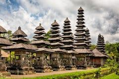 Tempio reale Taman Ayun, Bali, Indonesia Fotografia Stock