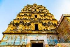 Tempio religioso in Hampi, India Immagine Stock Libera da Diritti