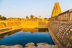 Tempio religioso in Hampi, India Fotografie Stock Libere da Diritti