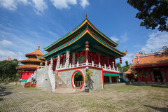 Tempio rosso immagine stock