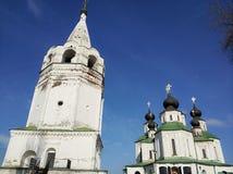 Tempio russo delle campane di chiesa, Russia La foto è regolato Foto di arte Fotografia Stock Libera da Diritti