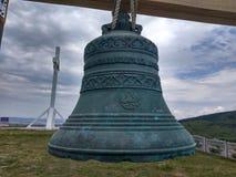 Tempio russo delle campane di chiesa, Russia La foto è regolato Foto di arte Fotografie Stock Libere da Diritti