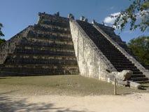 Tempio sacro di Chichen Itza Fotografia Stock