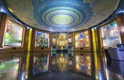 Tempio santo del santuario Fotografia Stock