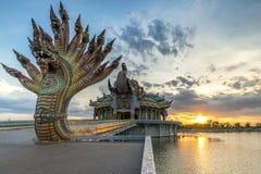 Tempio santo del santuario Fotografie Stock