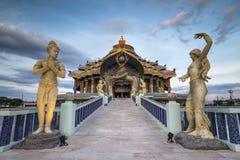Tempio santo del santuario Immagini Stock Libere da Diritti