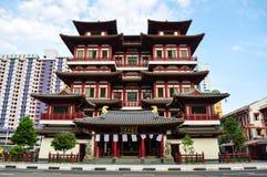 Tempio Singapore della reliquia del dente di Buddha Immagine Stock Libera da Diritti