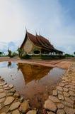 Tempio Sirindhorn Wararam Phuproud, artistico, Tailandia, pubblico pl Fotografia Stock