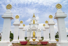 Tempio Sisaket Tailandia Fotografie Stock
