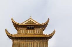 Tempio sopra la montagna di Emei Immagine Stock Libera da Diritti