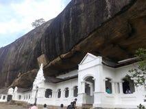 Tempio sotto la roccia Immagini Stock