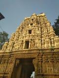 Tempio storico indiano Fotografia Stock