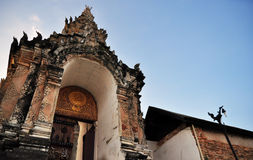 Tempio storico Tailandia Fotografia Stock Libera da Diritti