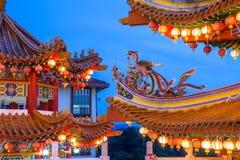 Tempio sul festival di Mezzo autunno, Kuala Lumpur di Thean Hou Fotografia Stock