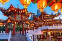 Tempio sul festival di Mezzo autunno, Kuala Lumpur di Thean Hou Fotografie Stock Libere da Diritti