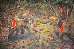 Tempio tailandese antico Immagine Stock