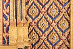 Tempio TAILANDESE Art Work Fotografie Stock Libere da Diritti