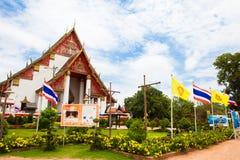 Tempio tailandese a Ayutthaya fotografia stock
