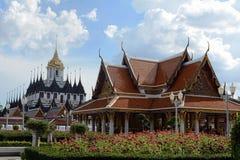 Tempio tailandese, Bangkok Fotografia Stock