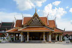 Tempio tailandese, Bangkok Fotografia Stock Libera da Diritti