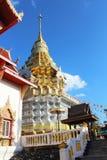 Tempio tailandese in chiangmai, Tailandia Fotografia Stock Libera da Diritti