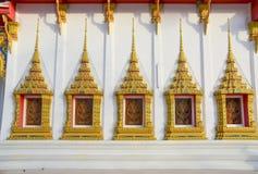 Tempio tailandese comune Fotografia Stock Libera da Diritti