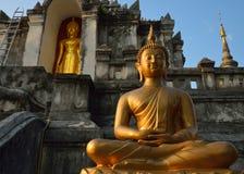 Tempio tailandese di buddismo, Wat Phra Yuen Immagini Stock Libere da Diritti