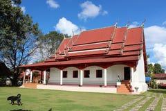Tempio tailandese (Wat Ponchai) in Loei, Tailandia Immagine Stock
