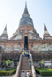 Tempio tailandese Watyaichaimongkol Immagini Stock