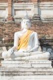 Tempio tailandese Watyaichaimongkol Immagine Stock