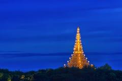 Tempio in Tailandia del viaggio fotografia stock libera da diritti