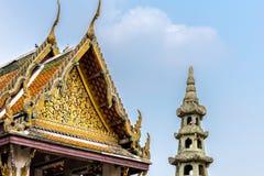 tempio in Tailandia ed in Asia Immagine Stock Libera da Diritti