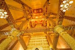 Tempio Tailandia in Ubonratchatani immagine stock