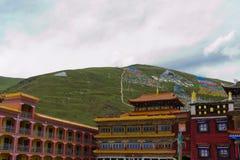 Tempio tibetano Fotografia Stock Libera da Diritti